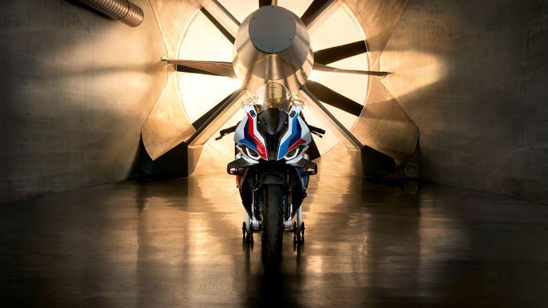 BMW M 1000 RR, Racing bikes, 2021, 5K, Wallpaper
