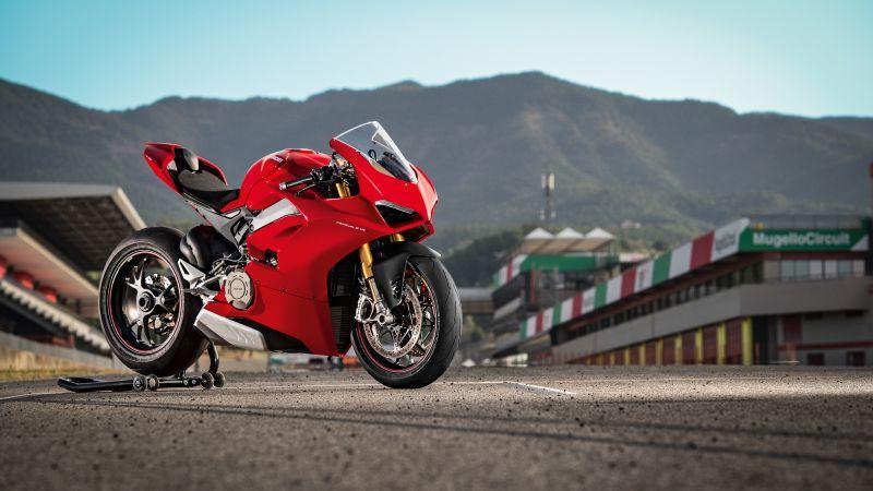 Ducati Panigale V4 S, 2020, 5K, Wallpaper