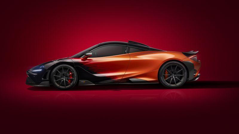 McLaren 765LT Strata, MSO, Supercars, 2020, 5K, 8K, Wallpaper