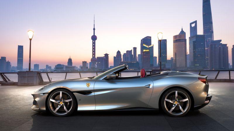 Ferrari Portofino M, 2021, 5K, 8K, Wallpaper