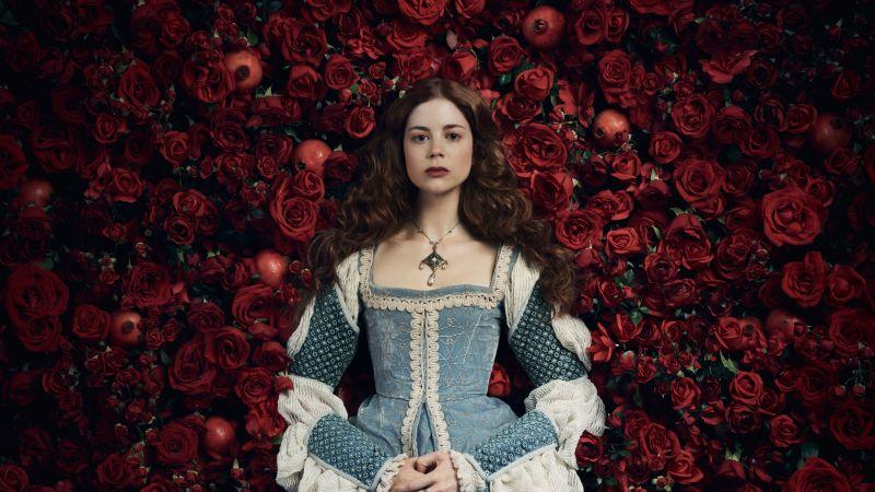 Charlotte Hope, The Spanish Princess, TV series, Season 2, Wallpaper