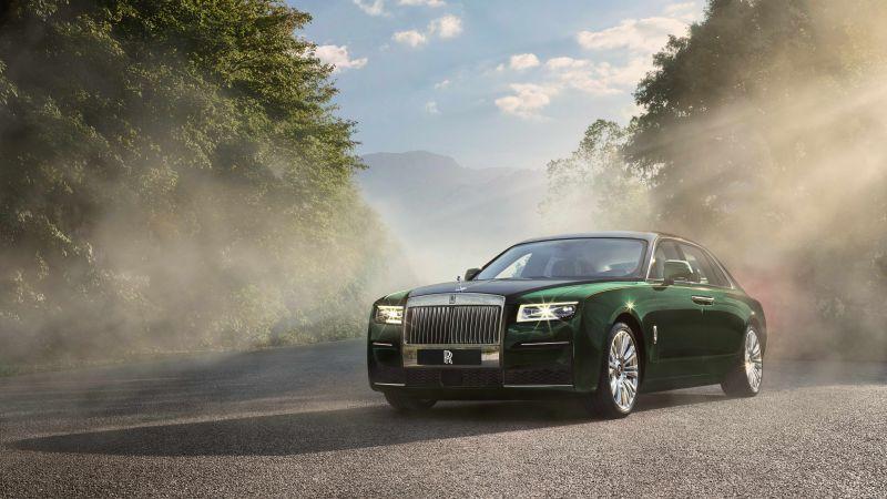 Rolls-Royce Ghost EWB, 2020, 5K, 8K, Wallpaper