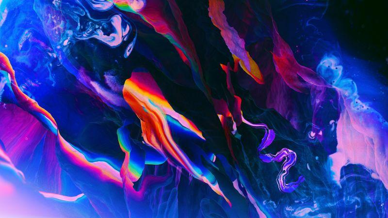 Colorful, Pattern, Digital Art, Paranoid Android, Stock, 5K, 8K, Wallpaper