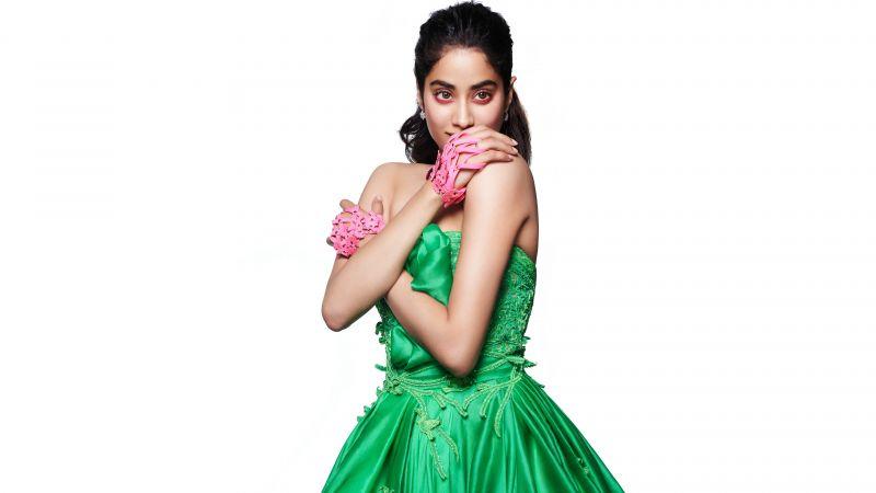Janhvi Kapoor, Indian actress, Bollywood actress, 5K, 8K, Wallpaper