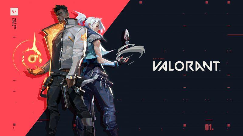 Phoenix, Jett, Valorant, PC Games, 2020 Games, Wallpaper