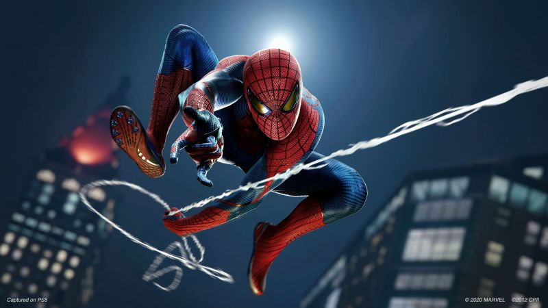 Marvel's Spider-Man, Remastered, PlayStation 5, 2020 Games, Wallpaper