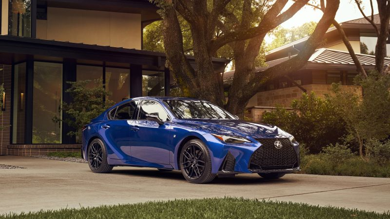 Lexus IS 350 F SPORT, 2021, 5K, 8K, Wallpaper