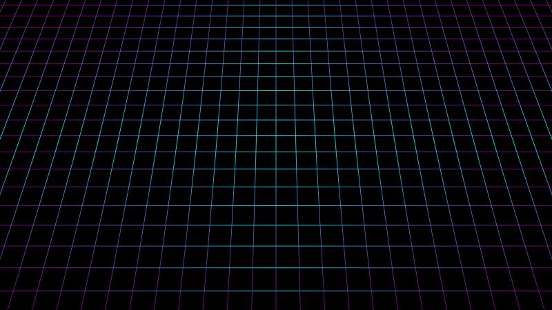 Grid, Black background, Neon, Squares, 5K, 8K, Wallpaper