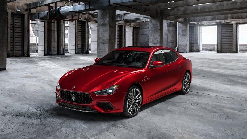 Maserati Ghibli Trofeo, 2020, 5K, Wallpaper