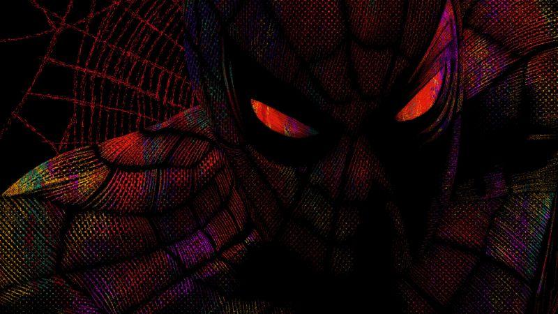 Spider-Man, Fan art, Dark, Marvel Superheroes, Marvel Comics, Wallpaper