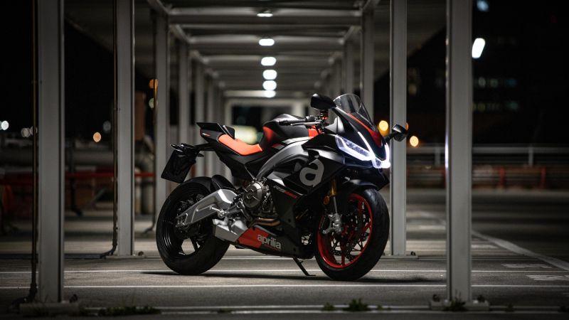 Aprilia RS 660, Sports bikes, 2021, 5K, Wallpaper