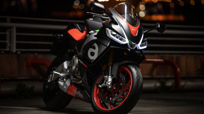 Aprilia RS 660, Sports bikes, 2021, 5K, Wallpaper