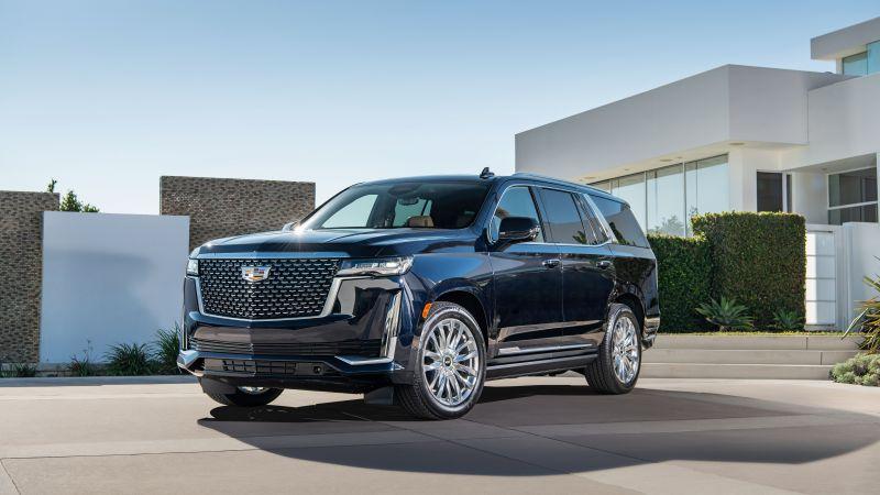 Cadillac Escalade, Luxury SUV, 2021, 5K, Wallpaper