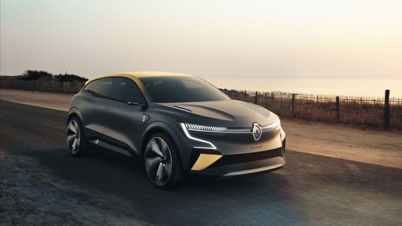 Renault Mégane eVision, Electric cars, Concept cars, 2020, 5K, Wallpaper