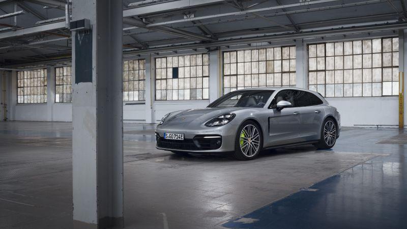 Porsche Panamera 4 E-Hybrid Sport Turismo, 2020, 5K, Wallpaper