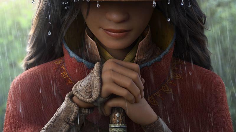Raya and the Last Dragon, Animation, 2021, Wallpaper