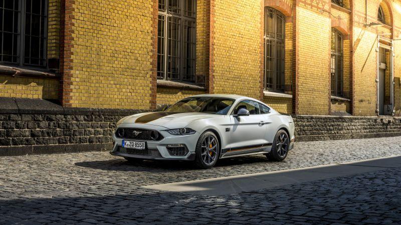 Ford Mustang Mach 1, 2021, 5K, Wallpaper