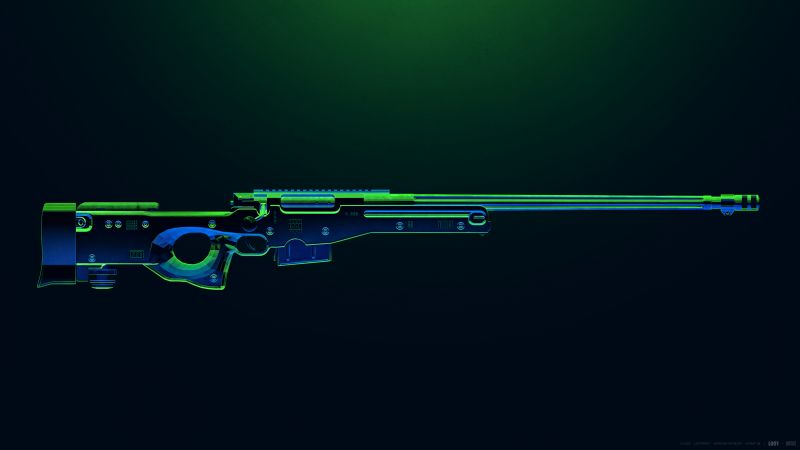 AWM, PUBG MOBILE, Sniper rifle, PlayerUnknown's Battlegrounds, Wallpaper