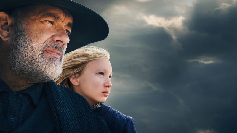 News of the World, Tom Hanks, Helena Zengel, 2020 Movies, 5K, Wallpaper