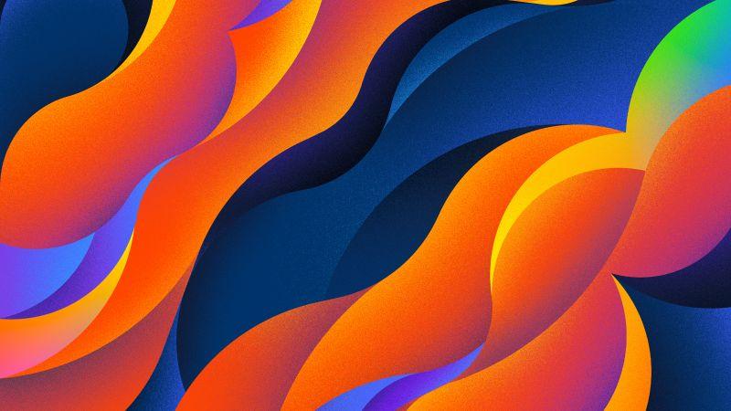 Colorful background, Texture, Multi color, Orange, Illustration, Wallpaper