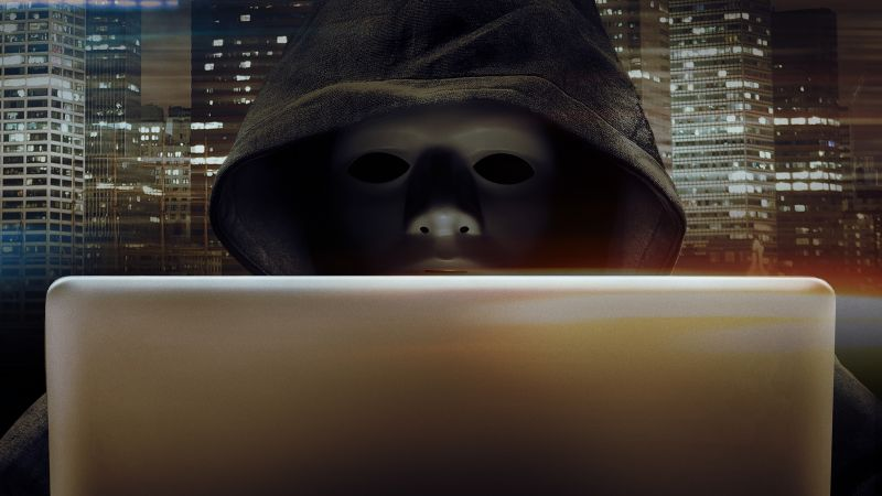 Hacker, Laptop, Hoodie, Anonymous, Currency, Wallpaper