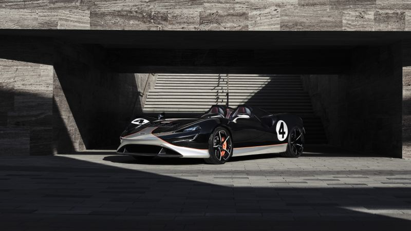McLaren Elva M1A Theme, 2021, 5K, 8K, Wallpaper