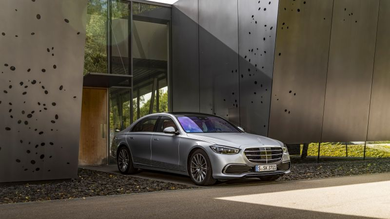 Mercedes-Benz S 400 d 4MATIC, 2020, 5K, 8K, Wallpaper