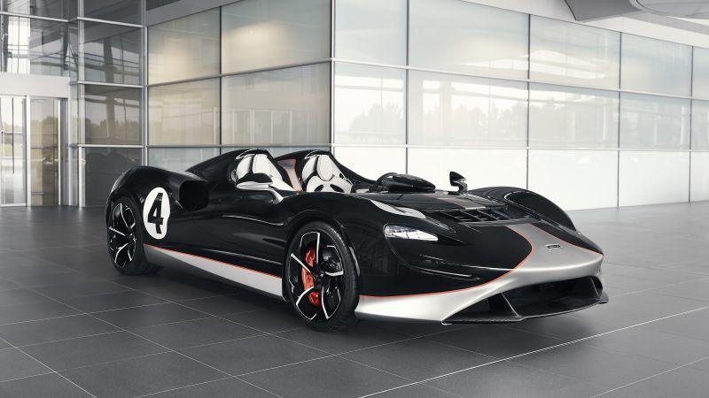 McLaren Elva M1A Theme, MSO, 2021, 5K, Wallpaper