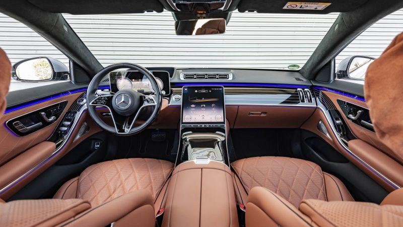 Mercedes-Benz S 400 d 4MATIC, 2021, 5K, 8K, Wallpaper