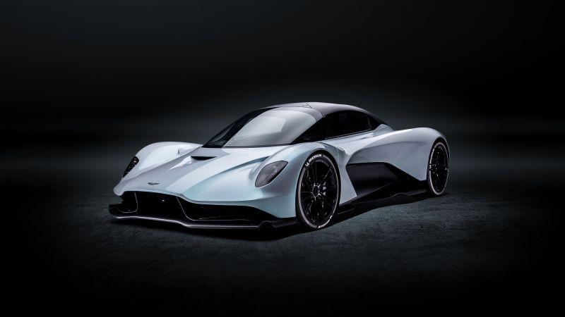 Aston Martin Valhalla, Sports cars, Red Bull Racing, 5K, Wallpaper