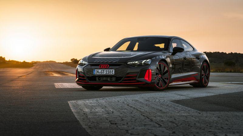 Audi RS e-tron GT Prototype, 2021, 5K, 8K, Wallpaper