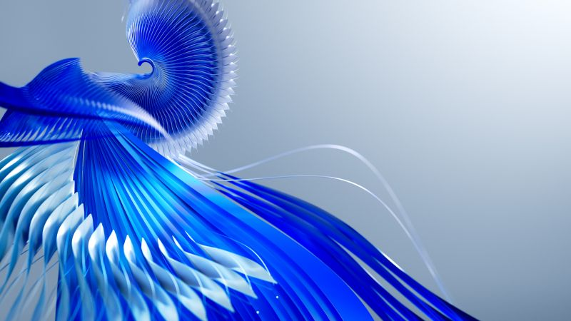 Design, Pattern, Imagination, Blue, Bright, Wallpaper
