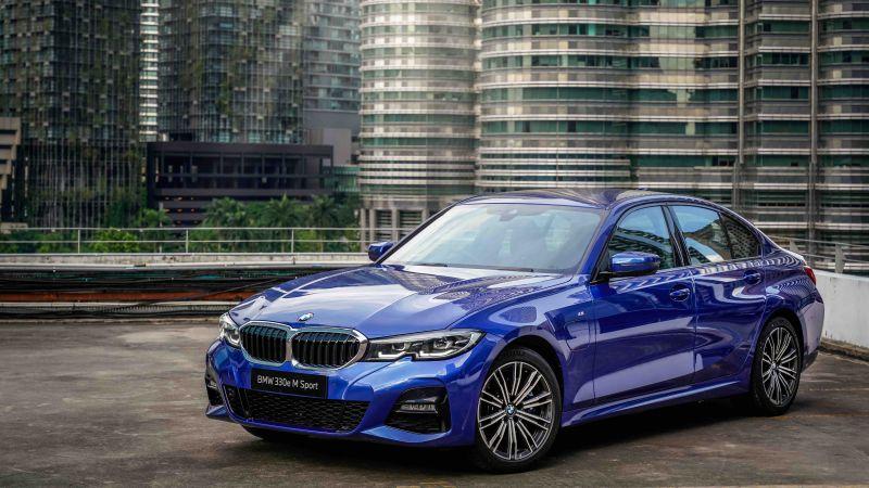 BMW 330e M Sport, 2021, 5K, Wallpaper