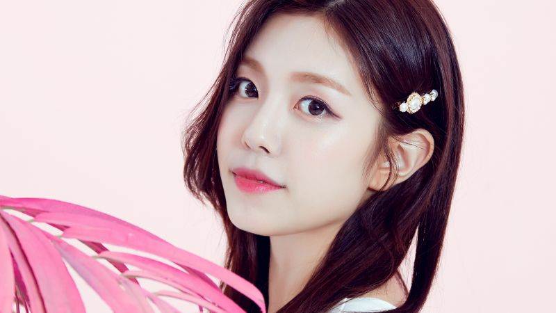 Gowoon, Berry Good, Korean singer, K-Pop singer, South Korean, Beautiful, Asian Girl, Wallpaper