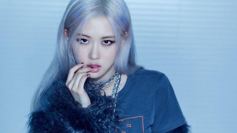 Rose, Blackpink, Korean singer, K-Pop singer, South Korean, Asian Girl, 5K, Wallpaper