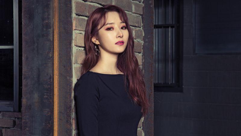 SuA, Dreamcatcher, Korean singer, K-Pop singer, Rapper, South Korean, 5K, Wallpaper
