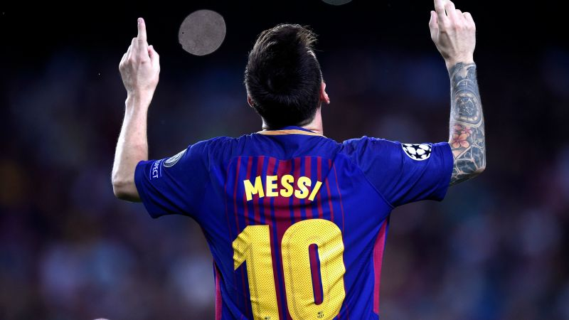 Lionel Messi, Football player, Argentinian, Goal, FC Barcelona, Wallpaper