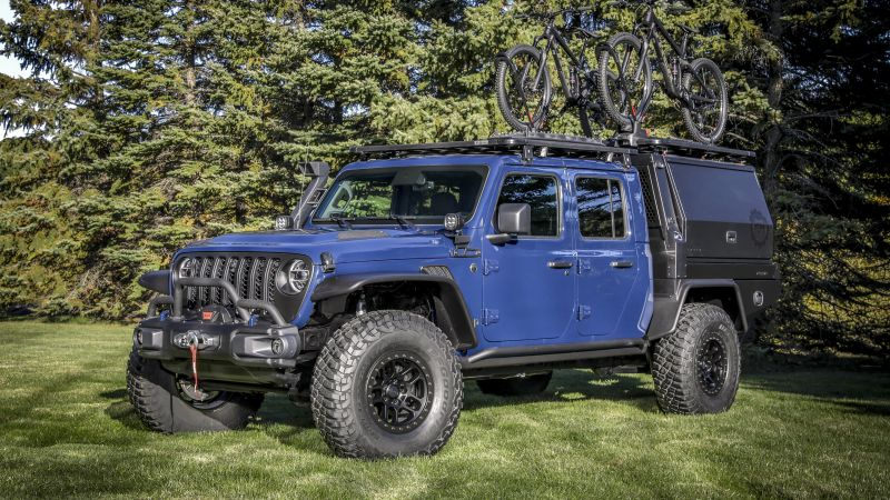 Jeep Gladiator Top Dog Concept, Concept cars, 2021, Wallpaper