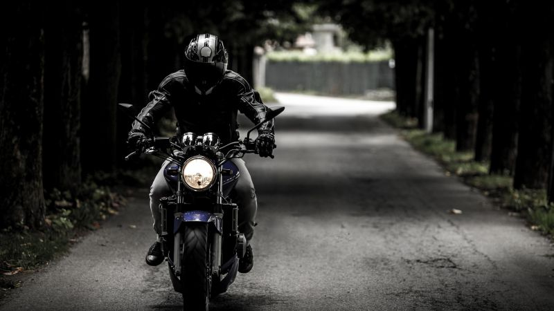 Biker, Motorcycle, Ride, Road trip, Helmet, Adventure, Motorbike, Vehicle, Travel, 5K, Wallpaper