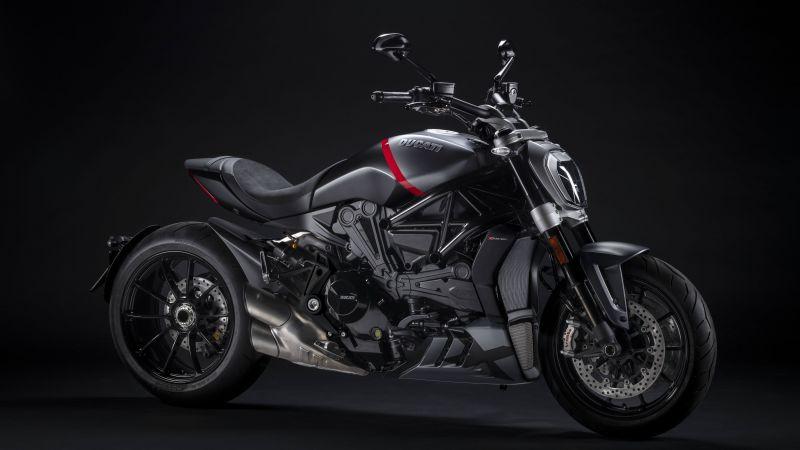 Ducati XDiavel Black Star, 2021, 5K, Wallpaper