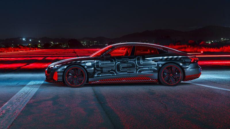 Audi RS e-tron GT, Prototype, 2021, 5K, Wallpaper