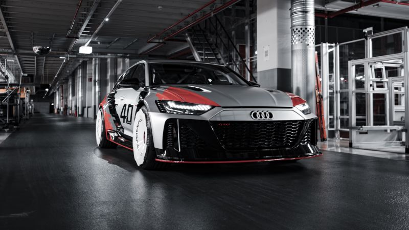 Audi RS6 GTO Concept, Race cars, Concept cars, 2021, Wallpaper