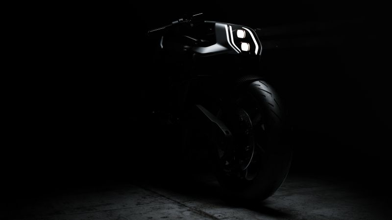 Arc Vector, Electric bikes, Future bikes, Prototype, Dark background, 5K, 8K, Wallpaper