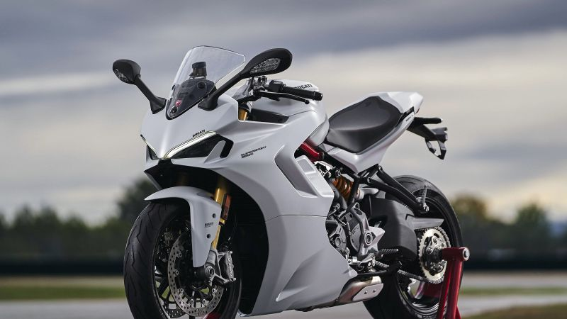 Ducati SuperSport 950, Sports bikes, 2021, Wallpaper