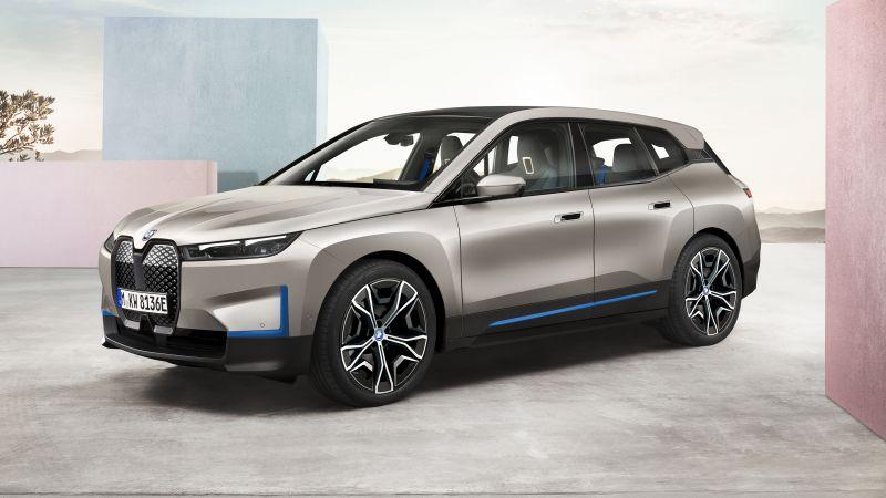 BMW iX, Electric cars, 2021, 5K, Wallpaper