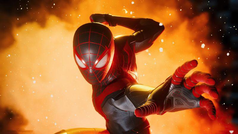 Marvel's Spider-Man: Miles Morales, PlayStation 5, 2020 Games, Wallpaper