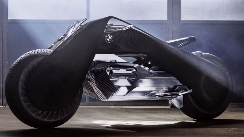 BMW Motorrad VISION NEXT 100, Future bikes, Electric bikes, Wallpaper