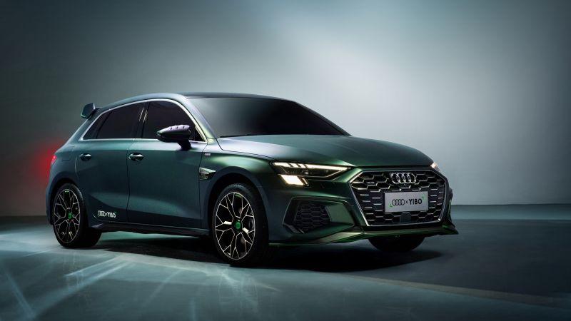 Audi A3 Sportback 35 TFSI S line YIBO, 2020, 5K, Wallpaper