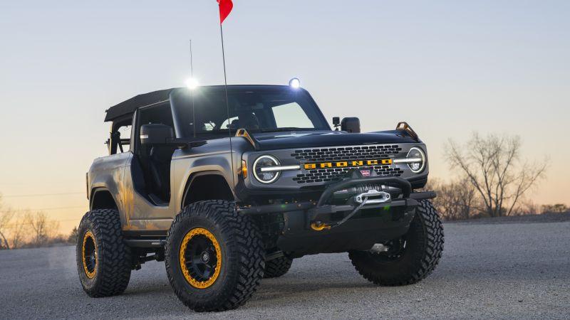 Ford Bronco Badlands Sasquatch, Concept cars, 2020, 5K, Wallpaper
