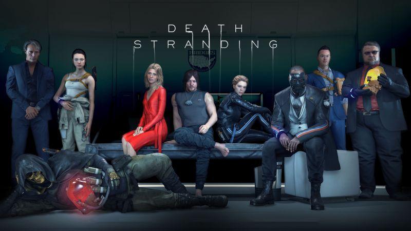 Death Stranding, PlayStation 4, PC Games, 2020, 5K, 8K, Wallpaper